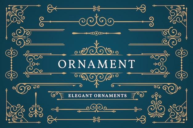 Klassischer ornamentrahmen