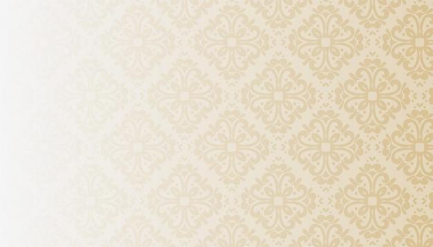Klassischer vintage-blumen-textur-hintergrund