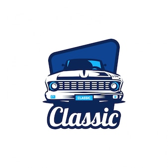 Klassisches auto logo