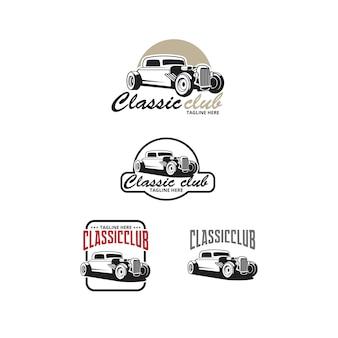 Klassisches club-logo