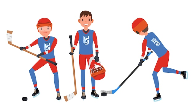 Klassisches eishockey