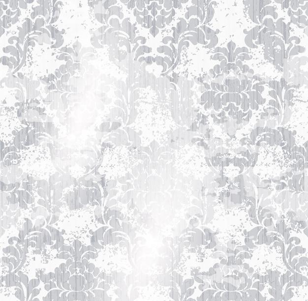 Klassisches elegantes verzierungsmusteraquarell. empfindliche farbenbeschaffenheitsmaterialien