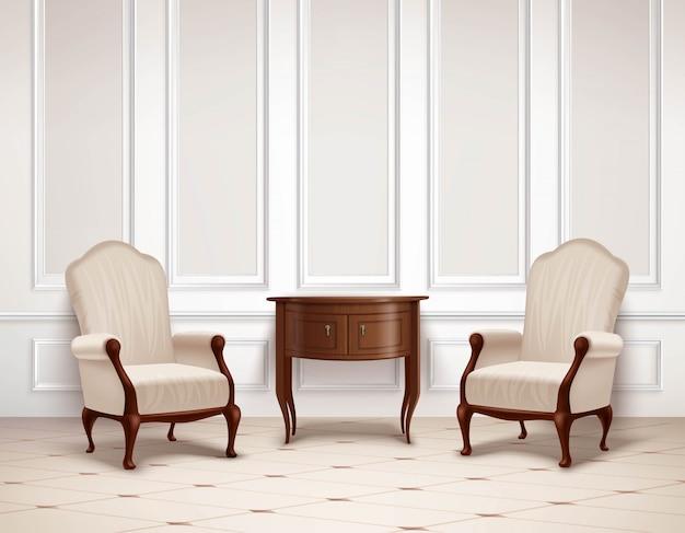 Klassisches interior design