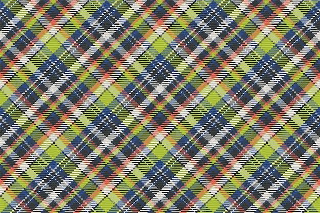 Klassisches kariertes tartan nahtloses muster für hemdendruck, stoff, textilien, hintergründe und websites
