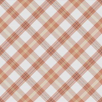 Klassisches kariertes tartanmuster. nahtlose abstrakte textur. geometrische farbtapete. vektorgewebedesign.