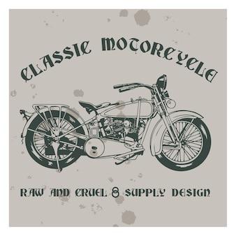 Klassisches motorrad