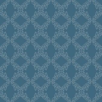 Klassisches nahtloses muster der vintage-tapete. hintergrund retro ornament design, vektor-illustration