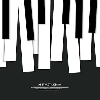 Klavierhintergrund und tasten des klavierkonzepts