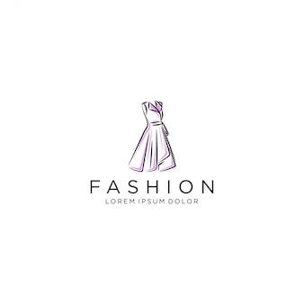 Kleid logo, luxus kleid kleid