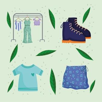 Kleiderschränke-set