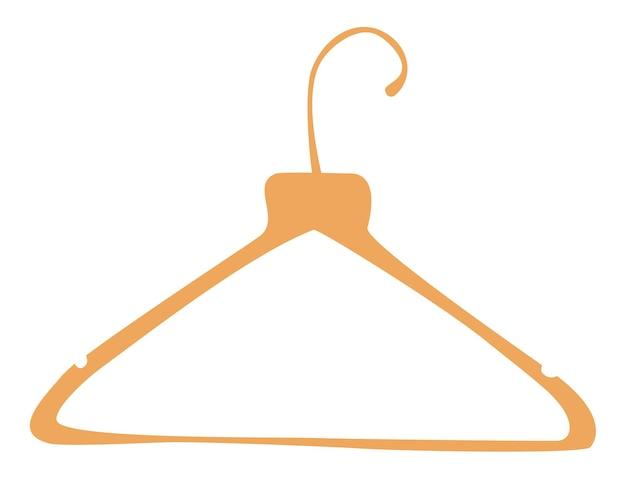 Kleiderständer aus holz. kleiderbügel. boutique, garderobe oder ladenlagerung.
