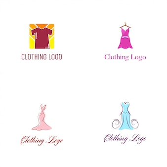 Kleidungs-logo vector design template