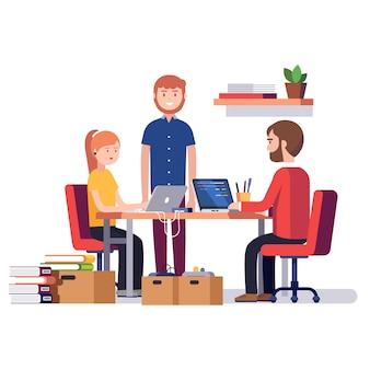 Kleine Start-up-Unternehmen