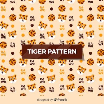 Kleines tigermuster