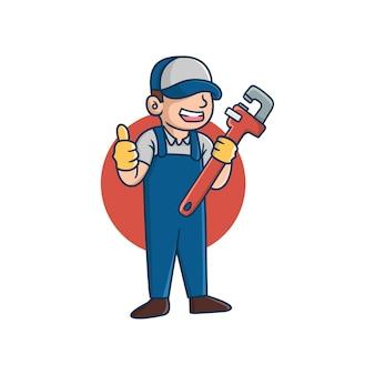Klempner master master cartoon pipe