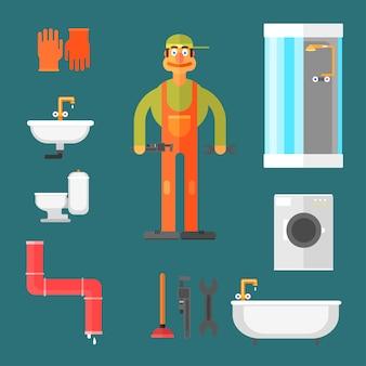 Klempner und ausrüstung