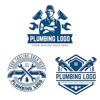 Klempnerarbeit logo vorlage