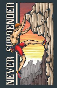 Kletterer abenteuer