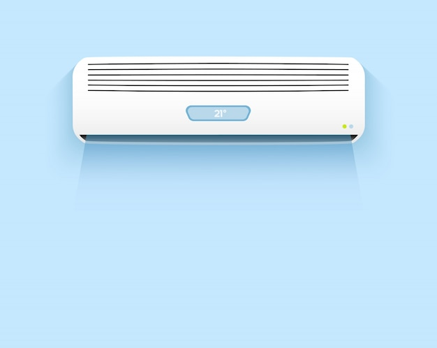 Klimaanlage, kühle brise