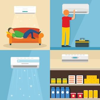 Klimaanlage luft