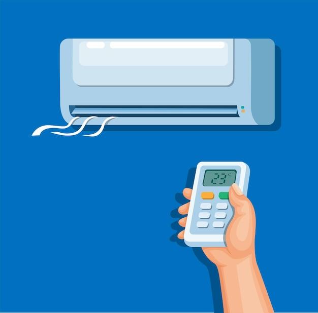 Klimaanlage mit fernbedienung