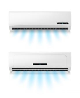 Klimaanlagen, realistische klimaanlagenausrüstung