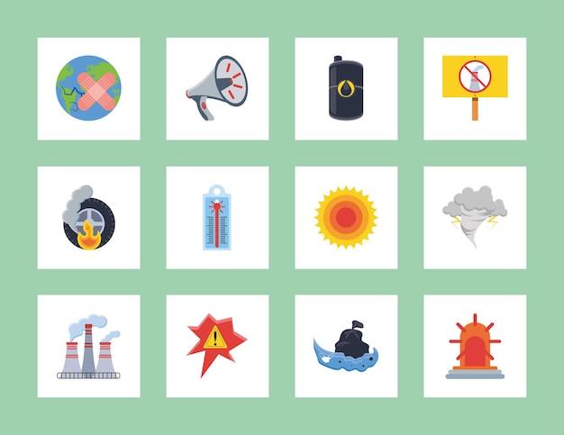 Klimakrise-symbole