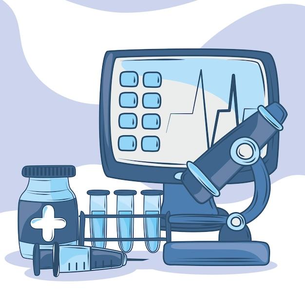 Klinik für gesundheitsgeräte