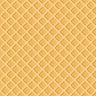 Knackige waffeln sommer muster nahtlose textur