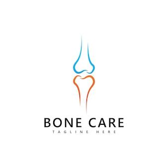 Knochen-logo-symbol-vektor-vorlage