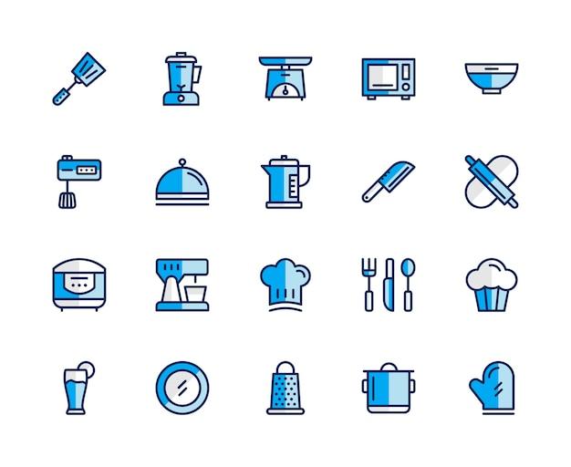 Kochen icon-set.