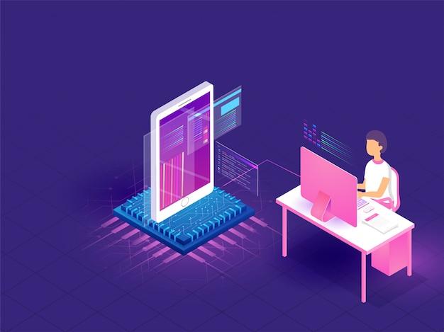 Kodierungs- und programmierkonzept