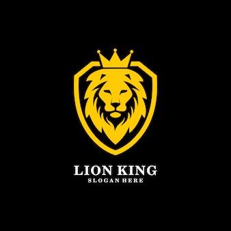 König der löwen schild logo