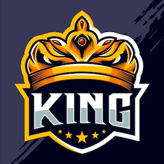 König krone esport logo design