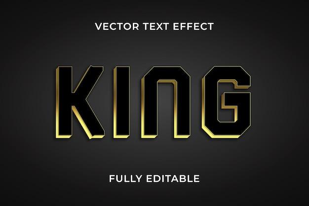 König texteffekt