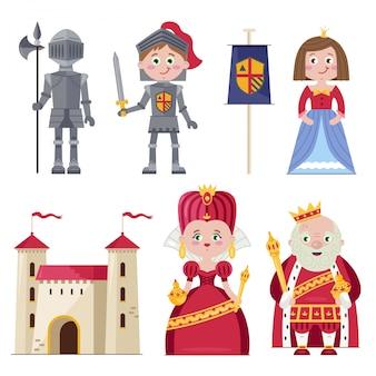 Königliche familie und ritterlichkeit