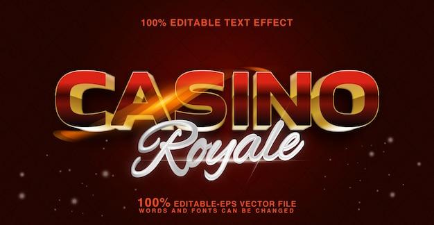 Königlicher text des kasinos