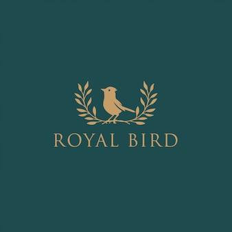 Königlicher vogel