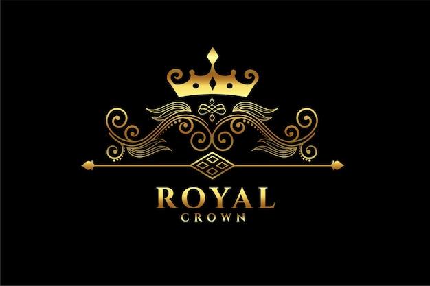 Königliches kronenlogo
