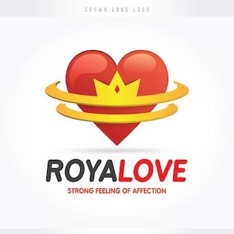 Königliches liebes-logo