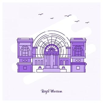 Königliches museum wahrzeichen