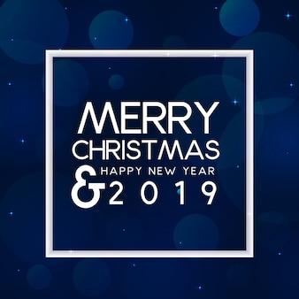 Königliches weihnachten und neujahr 2019