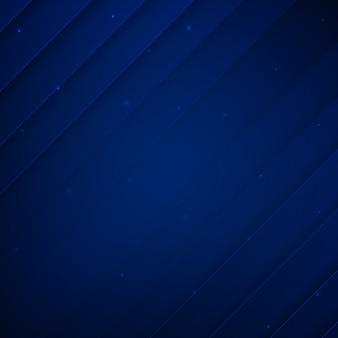 Königsblau-moderner memphis-hintergrund