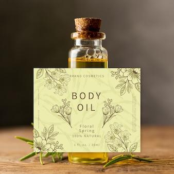 Körperöl in kleiner glasflasche ad