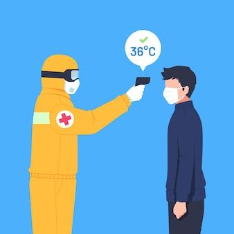 Körpertemperatur prüfen