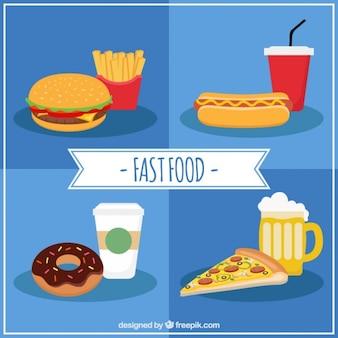 Köstliche fast-food-