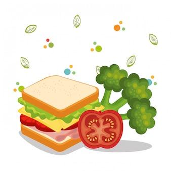 Köstliches essen menü symbole