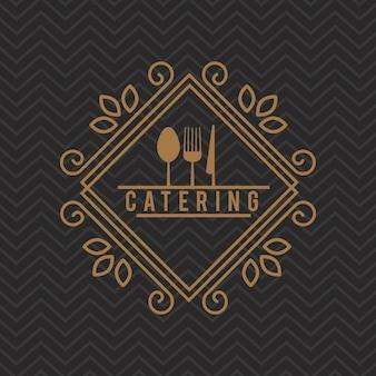 Köstliches essen-symbol