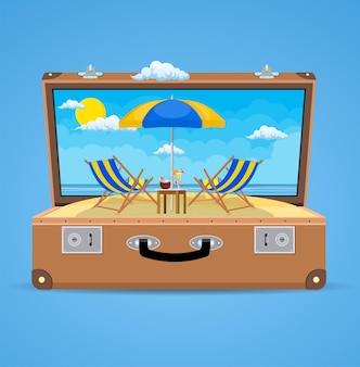Koffer und zubehör reisen