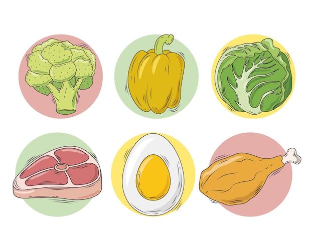 Kohlenhydrate und fett